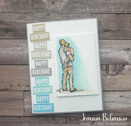#tgifc281 Stampin' Up! A Good Man Jeanna Bohanon