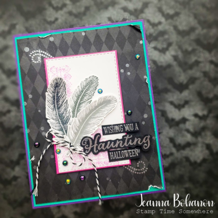 Creation Station Stampin' Up! Tasteful Touches Halloween Jeanna Bohanon