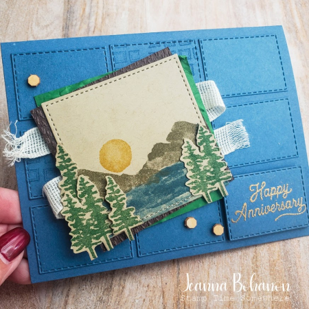 Creation station stampin up waterfront jeanna bohanon
