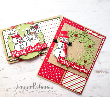 OSAT Stampin' Up! Snowman Season Combo