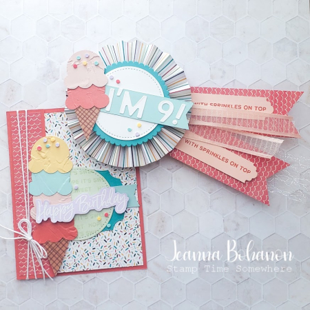 OSAT Stampin' Up! Sweet Ice Cream 3 Jeanna Bohanon