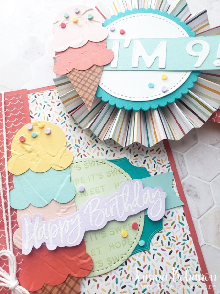 OSAT Stampin' Up! Sweet Ice Cream 2 Jeanna Bohanon
