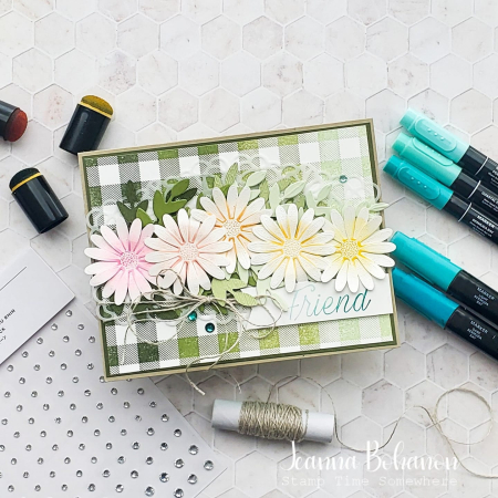 Fancy Friday Stampin' Up! Daisy Lane Jeanna Bohanon