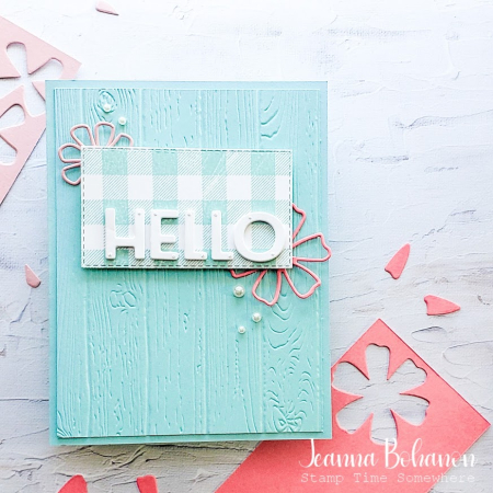 #tgifc310 Stampin' Up! Buffalo Check Jeanna Bohanon