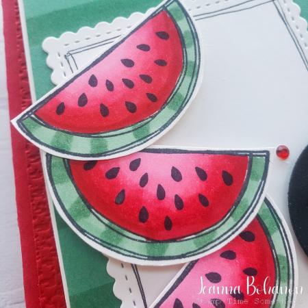Paper Pumpkin Thing So Cool card close Jeanna Bohanon