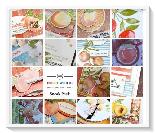 Create With Us Sweet As A Peach team sneak peek