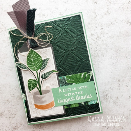 Creation Station Stampin' Up! Bloom Where You're Planted 1 Jeanna Bohanon