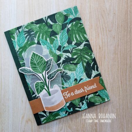 OSAT Plentiful Plants card Jeanna Bohanon