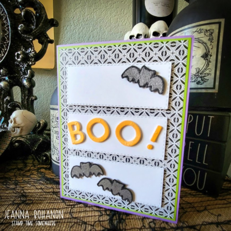 OSAT Blog Hop Stampin' Up! Halloween card Jeanna Bohanon