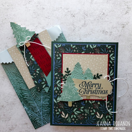 OSAT Christmas in July Stampin' Up! Perfectly Plaid set Jeanna Bohanon