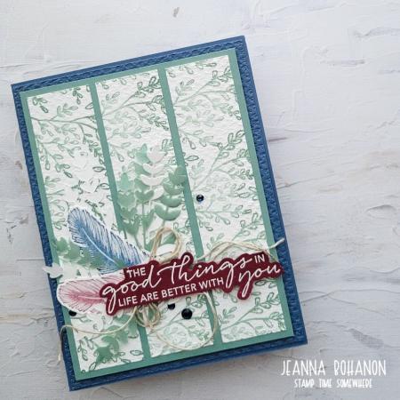 #TGIF337 Stampin Up! Tasteful Touches Jeanna Bohanon