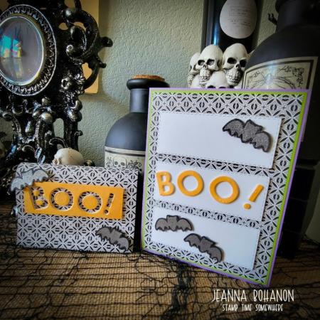 OSAT Blog Hop Stampin' Up! Halloween Jeanna Bohanon